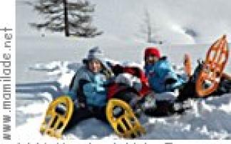 Wildbeobachtung und Schneeschuhwanderung