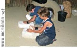 Kindergeburtstag im Museum für Urgeschichte Asparn/Zaya