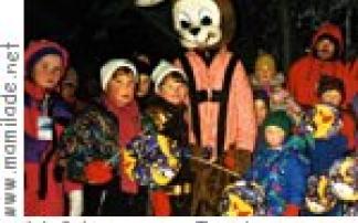 Lampionwanderung in Schoppernau