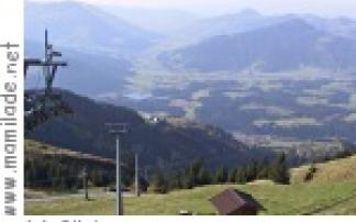 Hornbahn auf das Kitzbüheler Horn