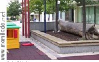 Spielplatz in der Fußgängerzone in Frauenkirchen