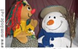 """Puppenspiel in der Kinderkrippe """"MU - KU - KI"""" in Innsbruck"""