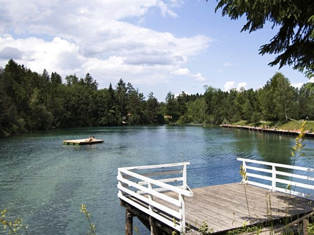 Kletterpark Waldbad Anif