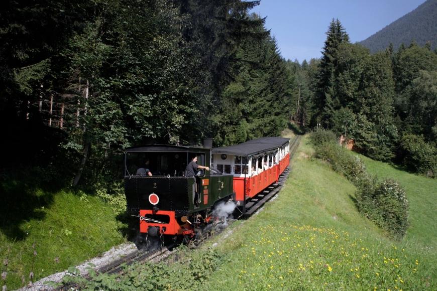 Dampfzug der Achensee