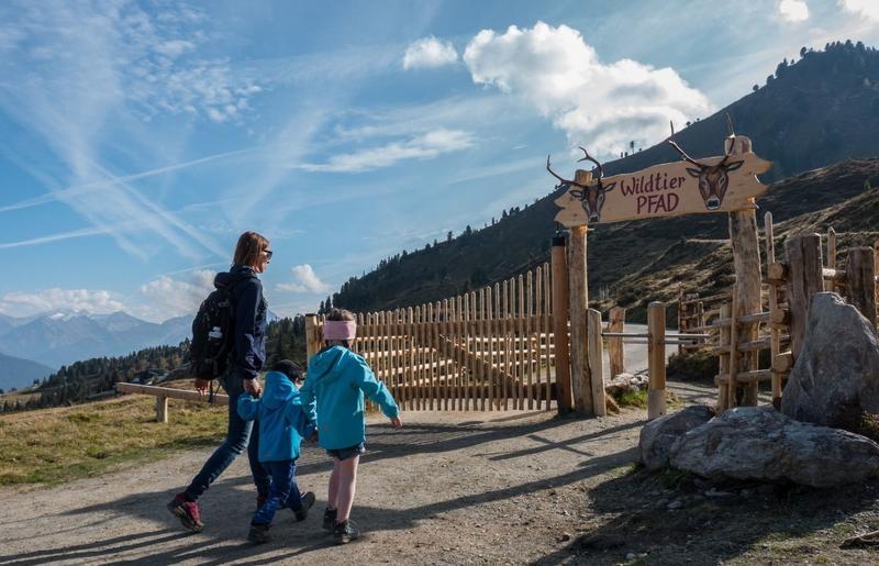 Hubertus Wildtierlehrpfad (c) Erste Ferienregion im Zillertal