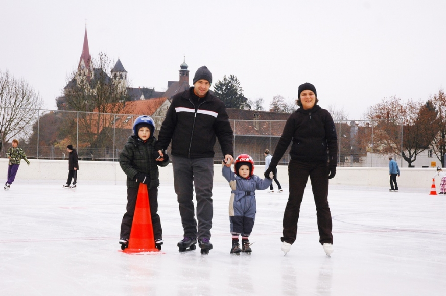 Eislaufen in Rankweil