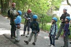 Kindergeburtstag mit der Abenteuerschule Natur Erlebnis