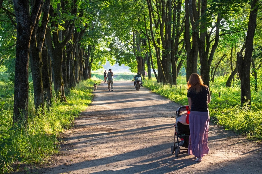 Symbolfoto Stadtpark Pinkafeld