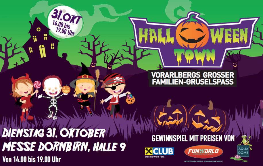 Halloween Fest für Kinder auf der Messe Dornbirn