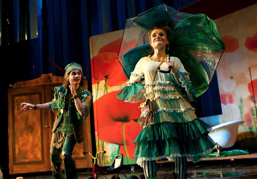 Peter Pan im Landestheater Linz