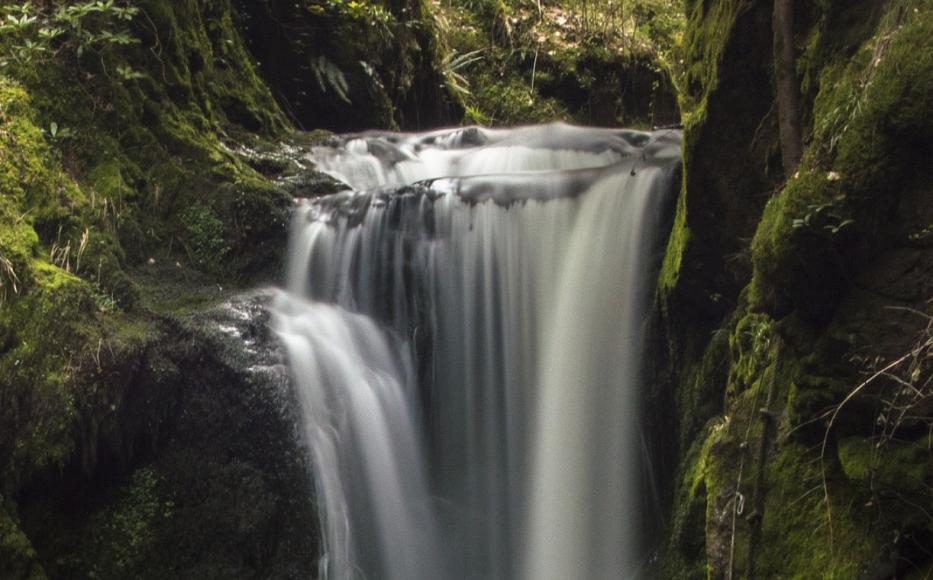 """Symbolfoto Wasserfall """"Schreiende Brunnen"""" in Fieberbrunn"""