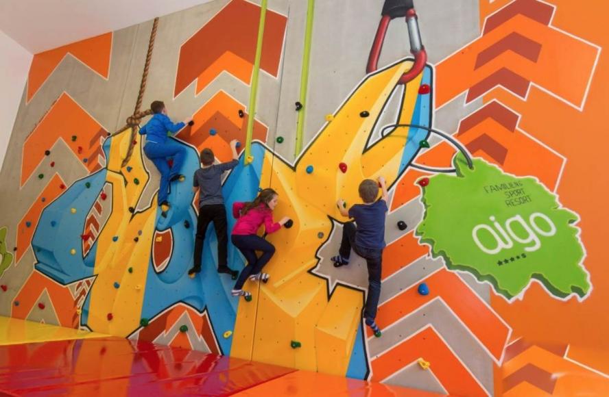 Familien entdecken das AIGO Familien- und Sportresort