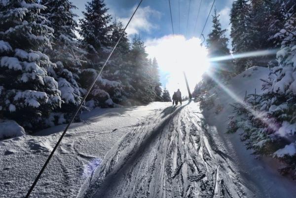 Skigebiet Arabichl bei Kirchberg am Wechsel