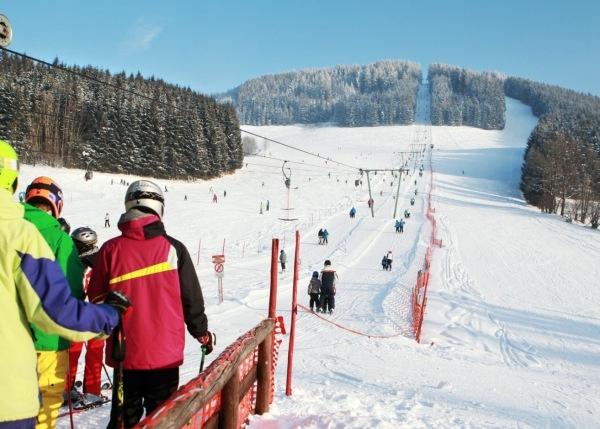 Skigebiet Maiszinken bei Lunz am See
