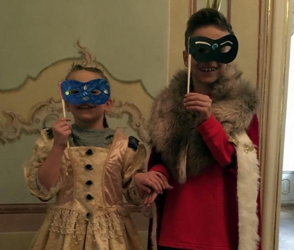 Kindergeburtstag in der Kaiserlichen Hofburg zu Innsbruck