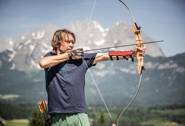 Bogenschießen in den Kitzbüheler Alpen