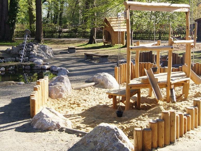 Spielplatz Konventgarten in Braunau