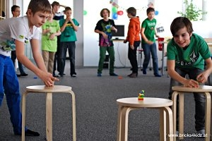 Kindergeburtstag im Bricks 4 Kidz® Creativity Center