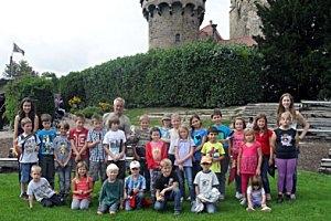 Kindergeburtstag auf der Adlerwarte Kreuzenstein