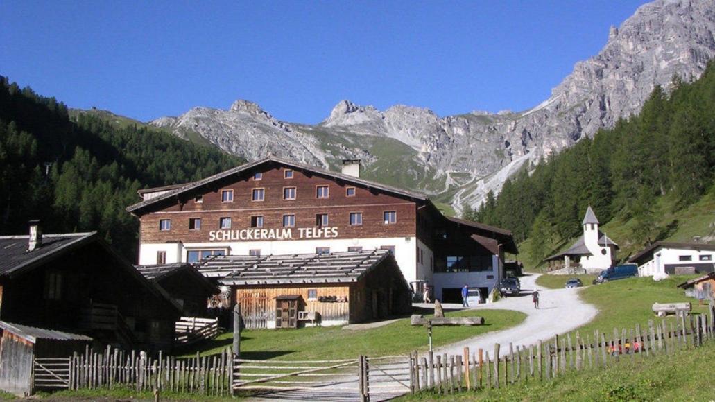 Alpengasthof Schlickeralm in Fulpmes