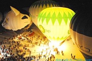 Gosau Nacht der Ballone