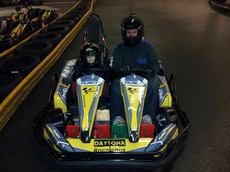 Kinderführerschein in der Kartsporthalle Daytona Raceways