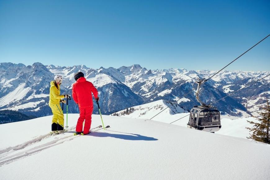 Skigebiet Diedamskopf Au - Schoppernau