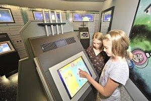 Schlaue Kids Raumschiff im Messepark Dornbirn