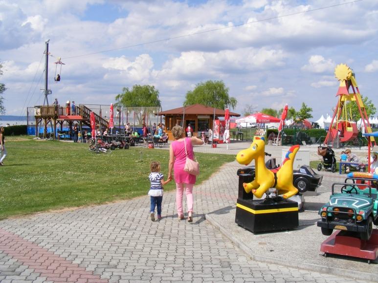 Der Freizeitpark in Podersdorf