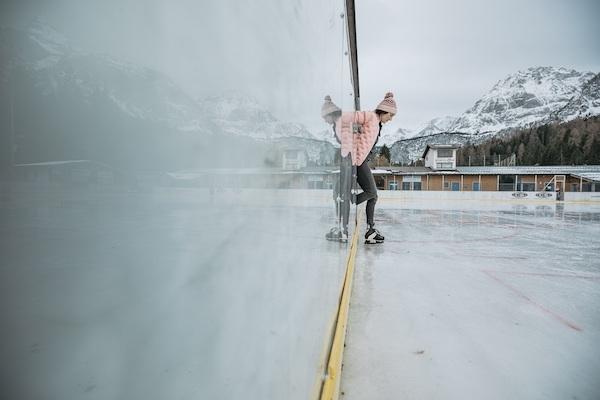 Eislaufen Lermoos