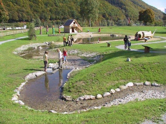 Wassererlebnis Mini-Donau in Engelhartszell
