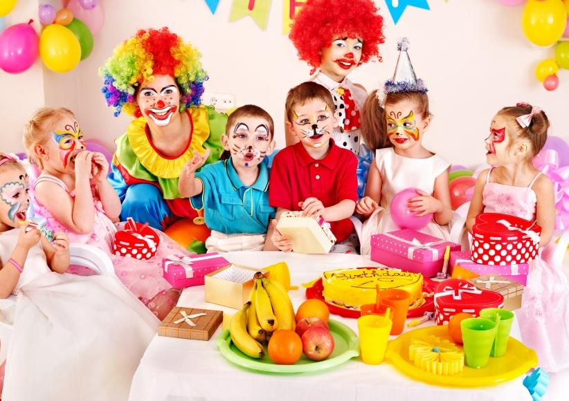 Kinderfeste und Parties