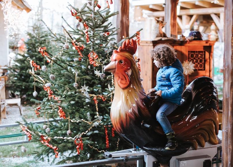 Weihnachtszauber im Familypark (c) familypark