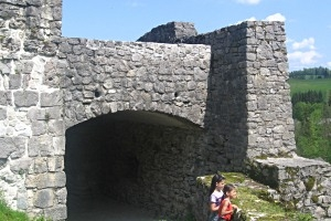 Ruine Plainburg in Großgmain