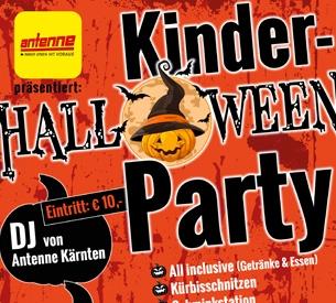 Antenne Kärnten Kinder Halloween Party in der Lavanttal Arena