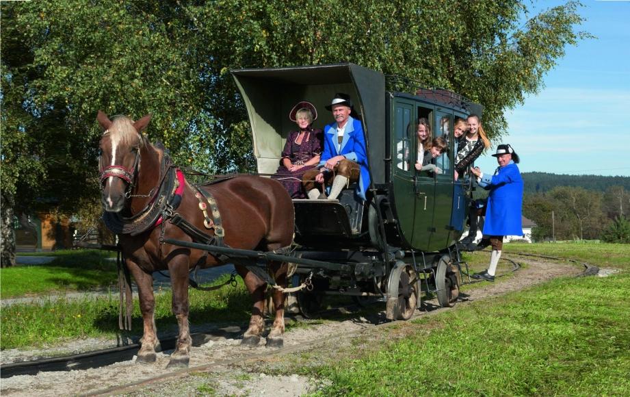 Pferdeeisenbahn im Mühlviertel