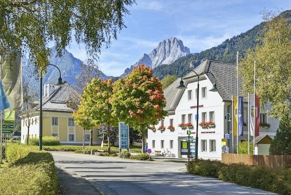 Dorfplatz Hinterstoder