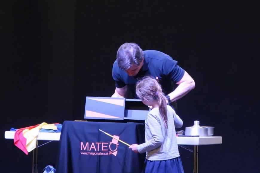 Magic Mateo Kindergeburtstag