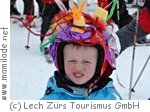 Crazy Helmet Day in Zürs