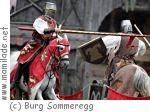 Ritterspiele auf Burg Sommeregg