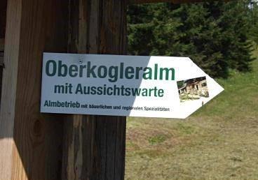 Naturlehrpfad und Aussichtswarte am Wörschachberg