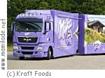 Milka Truck on Tour