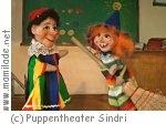 Puppentheater Sindri Buchstabenhexe