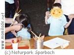 Kreativwerkstatt  im Naturpark Sparbach