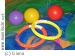 Jonglieren für Kinder und Eltern