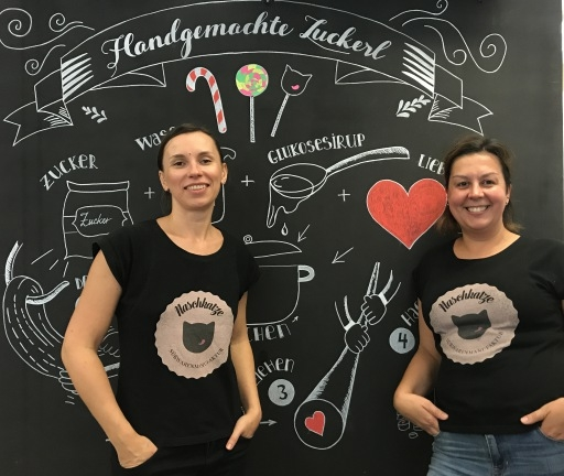 Süßwarenmanufaktur Naschkatze in Linz
