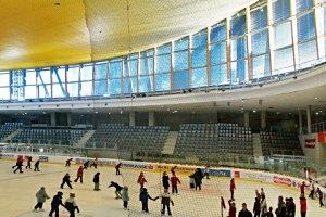 Eislaufen in der Olympiaworld in Innsbruck