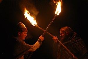 Nacht des keltischen Feuers im Urgeschichtemuseum Niederösterreich