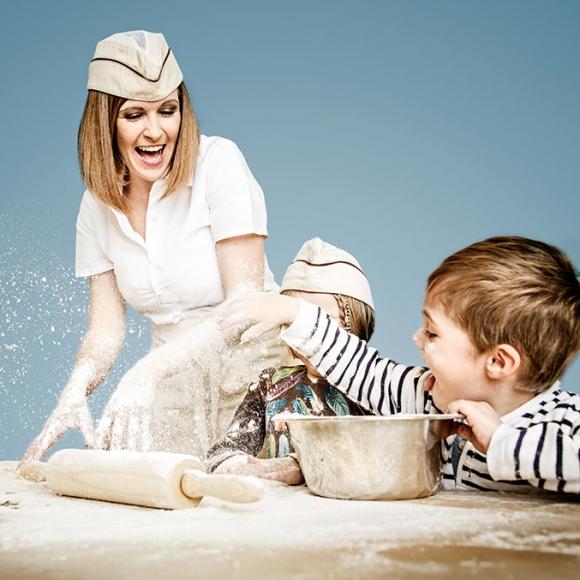 Kinderbackkurse beim Bäcker Ruetz