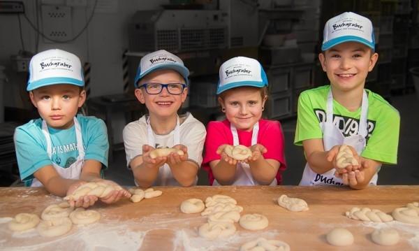 Kindergeburtstag in der Bäckerei Buchgraber
